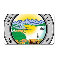 State Seal Of Alaska  Magnet (rectangular) by abbeyz71