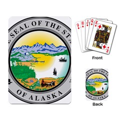 State Seal Of Alaska  Playing Cards Single Design