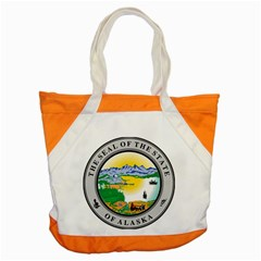 State Seal Of Alaska  Accent Tote Bag
