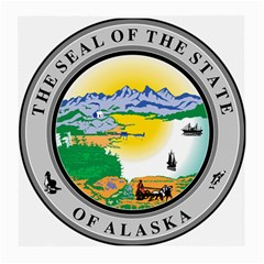 State Seal Of Alaska  Medium Glasses Cloth