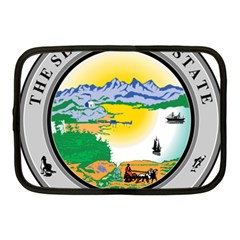 State Seal Of Alaska  Netbook Case (medium)