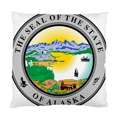 State Seal Of Alaska  Standard Cushion Case (one Side) by abbeyz71