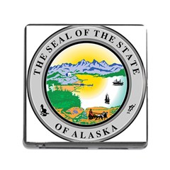 State Seal Of Alaska  Memory Card Reader (square 5 Slot)