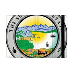 State Seal Of Alaska  Apple Ipad Mini Flip Case by abbeyz71