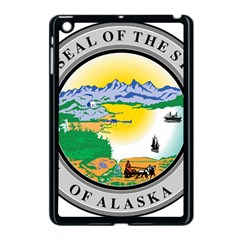 State Seal Of Alaska  Apple Ipad Mini Case (black) by abbeyz71
