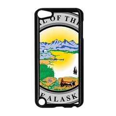 State Seal Of Alaska  Apple Ipod Touch 5 Case (black) by abbeyz71