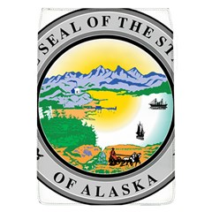 State Seal Of Alaska  Removable Flap Cover (l)