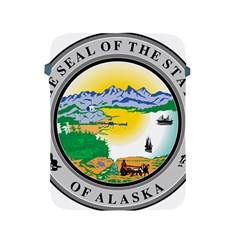 State Seal Of Alaska  Apple Ipad 2/3/4 Protective Soft Cases