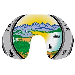 State Seal Of Alaska  Travel Neck Pillows