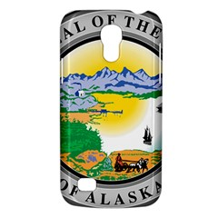 State Seal Of Alaska  Samsung Galaxy S4 Mini (gt I9190) Hardshell Case  by abbeyz71