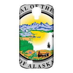 State Seal Of Alaska  Samsung Galaxy S4 Classic Hardshell Case (pc+silicone)
