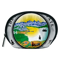 State Seal Of Alaska  Accessory Pouch (medium)