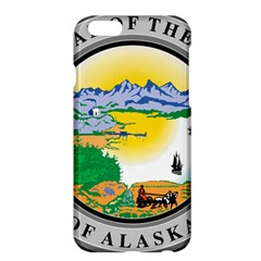 State Seal Of Alaska  Apple Iphone 6 Plus/6s Plus Hardshell Case by abbeyz71