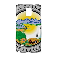 State Seal Of Alaska  Samsung Galaxy Note 4 Hardshell Case