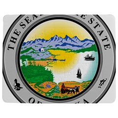 State Seal Of Alaska  Jigsaw Puzzle Photo Stand (rectangular) by abbeyz71