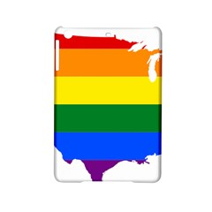 Usa Lgbt Flag Map Ipad Mini 2 Hardshell Cases