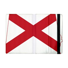 Flag Map Of Alabama Apple Ipad Mini Flip Case by abbeyz71