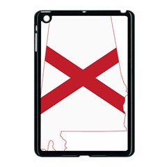Flag Map Of Alabama Apple Ipad Mini Case (black) by abbeyz71