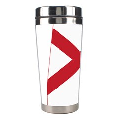 Flag Map Of Alabama Stainless Steel Travel Tumblers by abbeyz71