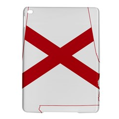 Flag Map Of Alabama Ipad Air 2 Hardshell Cases by abbeyz71