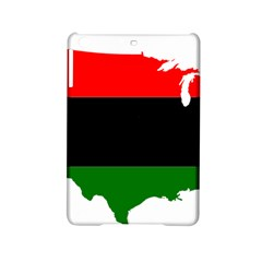 Pan African Flag Map Of United States Ipad Mini 2 Hardshell Cases by abbeyz71