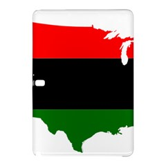 Pan African Flag Map Of United States Samsung Galaxy Tab Pro 10 1 Hardshell Case by abbeyz71