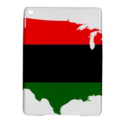 Pan African Flag Map Of United States Ipad Air 2 Hardshell Cases by abbeyz71