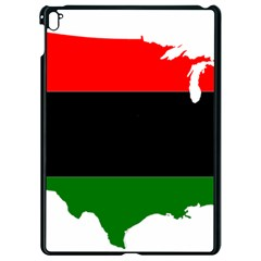 Pan African Flag Map Of United States Apple Ipad Pro 9 7   Black Seamless Case by abbeyz71