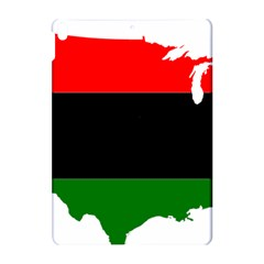 Pan African Flag Map Of United States Apple Ipad Pro 10 5   Hardshell Case by abbeyz71