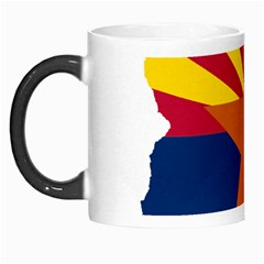 Flag Map Of Arizona Morph Mugs by abbeyz71