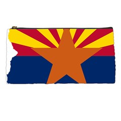 Flag Map Of Arizona Pencil Cases by abbeyz71