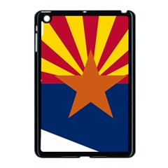 Flag Map Of Arizona Apple Ipad Mini Case (black) by abbeyz71