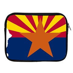 Flag Map Of Arizona Apple Ipad 2/3/4 Zipper Cases by abbeyz71
