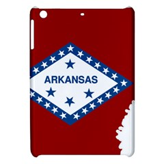 Flag Map Of Arkansas Apple Ipad Mini Hardshell Case by abbeyz71