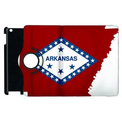 Flag Map Of Arkansas Apple Ipad 3/4 Flip 360 Case by abbeyz71