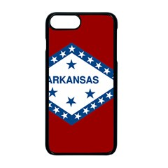 Flag Map Of Arkansas Apple Iphone 7 Plus Seamless Case (black) by abbeyz71