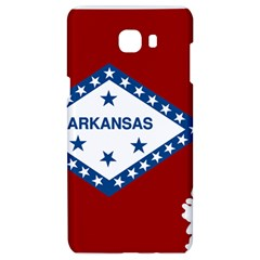 Flag Map Of Arkansas Samsung C9 Pro Hardshell Case  by abbeyz71