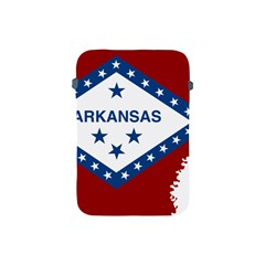 Flag Map Of Arkansas Apple Ipad Mini Protective Soft Cases by abbeyz71
