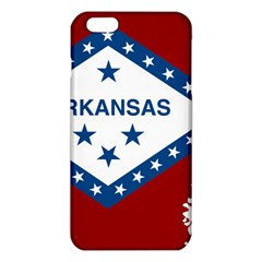 Flag Map Of Arkansas Iphone 6 Plus/6s Plus Tpu Case by abbeyz71
