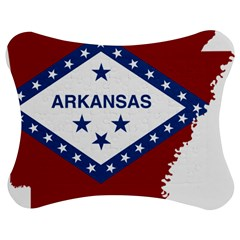 Flag Map Of Arkansas Jigsaw Puzzle Photo Stand (bow) by abbeyz71