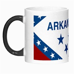 Flag Map Of Arkansas Morph Mugs by abbeyz71