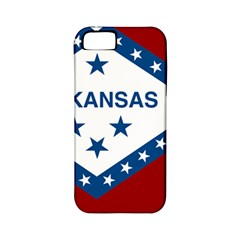Flag Map Of Arkansas Apple Iphone 5 Classic Hardshell Case (pc+silicone) by abbeyz71