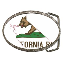 California Flag Map Belt Buckles by abbeyz71