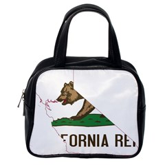 California Flag Map Classic Handbag (one Side) by abbeyz71