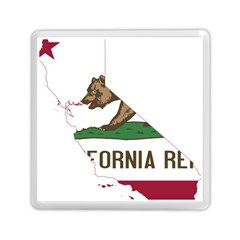 California Flag Map Memory Card Reader (square) by abbeyz71