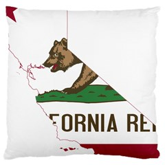 California Flag Map Large Cushion Case (two Sides) by abbeyz71