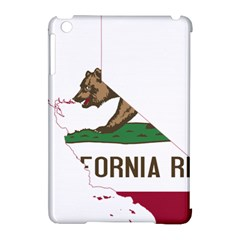 California Flag Map Apple Ipad Mini Hardshell Case (compatible With Smart Cover) by abbeyz71