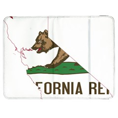 California Flag Map Samsung Galaxy Tab 7  P1000 Flip Case by abbeyz71
