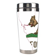 California Flag Map Stainless Steel Travel Tumblers by abbeyz71