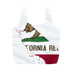 California Flag Map Full Print Recycle Bag (m) by abbeyz71